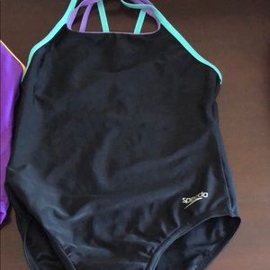 Speedo Swim - Lot of 2 Speedo Girls Bathing suits size 8